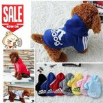 Idepet(TM) Pet Dog Cat Hoodie Cotton Puppy Sweater Teddy Clothes Poodle Coat Chihuahua Dog Jacket Clothing for Small Dog 5