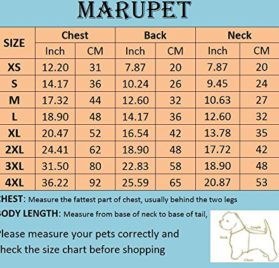 MaruPet Adjustable Small to Large Dog Waterproof Raincoat Lightweight Rain Jacket Poncho with Strip Reflective for Teddy, Pug, Chihuahua, Shih Tzu, Golden Retriever, Husky, Samoye 2
