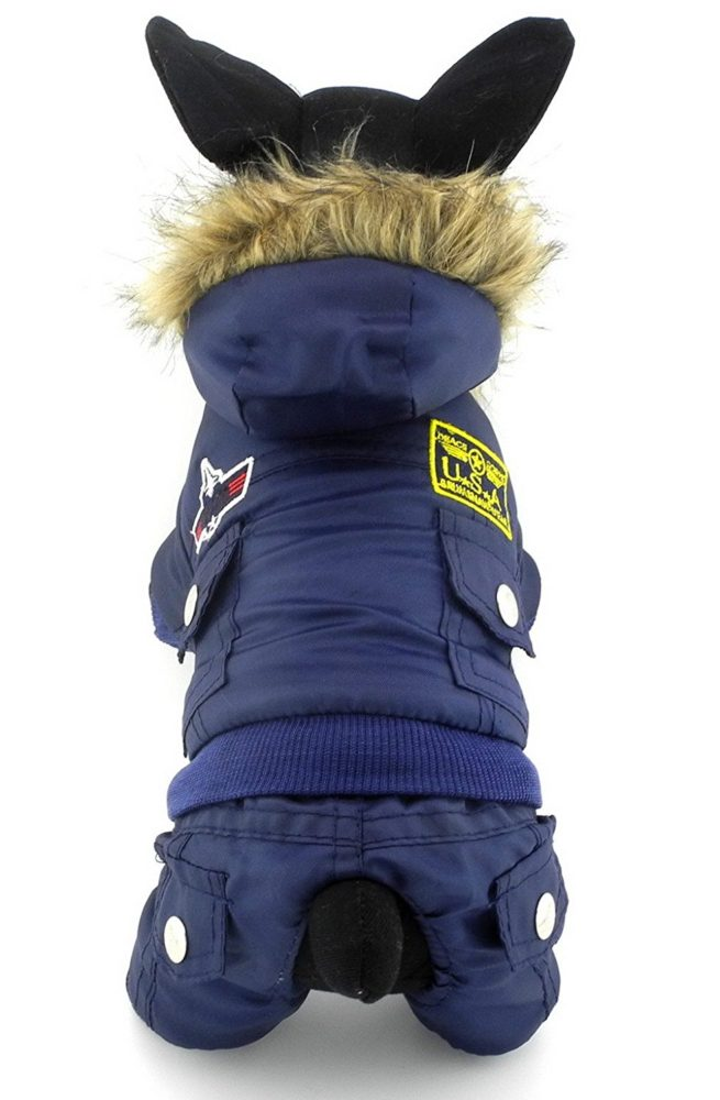 Dog Grooming Apparel Jumpsuit
