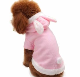 Small-Size Dog Cute Rabbit Costume, HP95(TM) Pet Puppy Dog Cat Fashion Cute Rabbit Plush Dog Apparel Pet Hoodie Costume Clothes