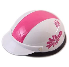 Helmet for Dogs, Cats and All Small Pets, Pet Accessory - Pink Fireworks for small dogs 5-10 lbs