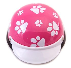 Helmets for Dogs, Cats, and All Small Pets - Pink Paws for small dogs 5-10 lbs 2