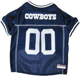 NFL PET JERSEY Football Licensed Dog Jersey 32 NFL Teams Available Comes in 6 Sizes Football Pet Jersey Sports Mesh Jersey Dog Jersey Outfit (Dallas Cowboys) 2