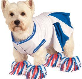 Rubie's Deluxe Cheerleader Pet Costume, Small