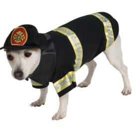 Rubie's Pet Costume, Small, Fire Fighter