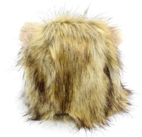 SMALLLEE_LUCKY_STORE Pet Clothes for Small Dog Cat Lion Mane Costume Wig Hat Festival Party Fancy Dress 2