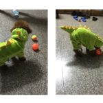 ARJOSA Puppy Dog Cat Thickened Hoodie Jumpsuit Dinosaur Dragon Costume Winter Coat Clothes 4