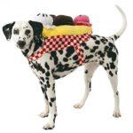 Banana Split Ice Cream Sundae Dog Costume