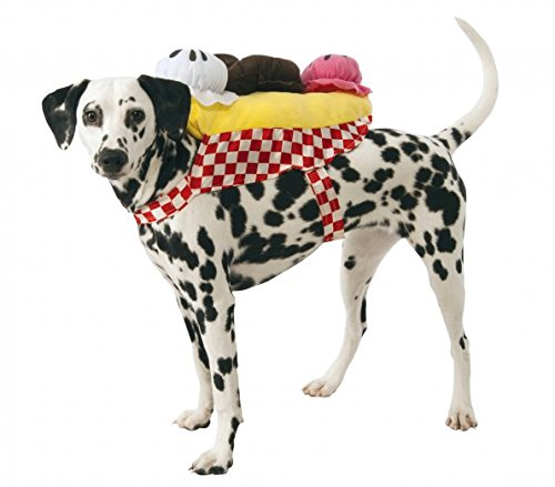 Banana Split Ice Cream Sundae Dog Costume