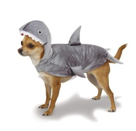 Casual Canine Gray Shark Costume for Dogs, Extra Small Size
