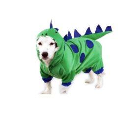 Casual Canine Polyester Dogzilla Dinosaur Dog Costume, X-Small, 8-Inch