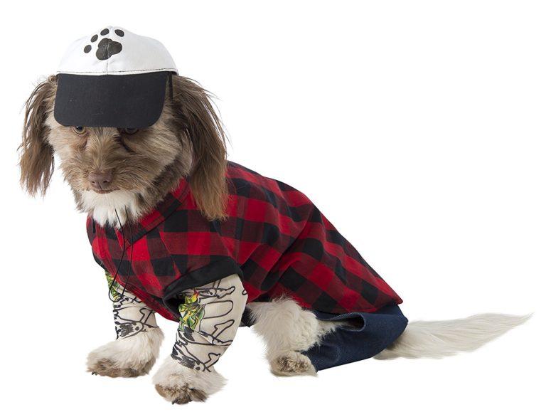 Hipster Dog Costume