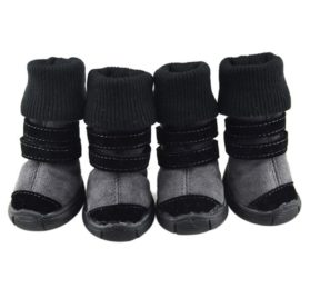 Homedeco Dog Boots Soft Anti-Slip Sole Paw Protectors For Chihuahua Puppies Small Pet