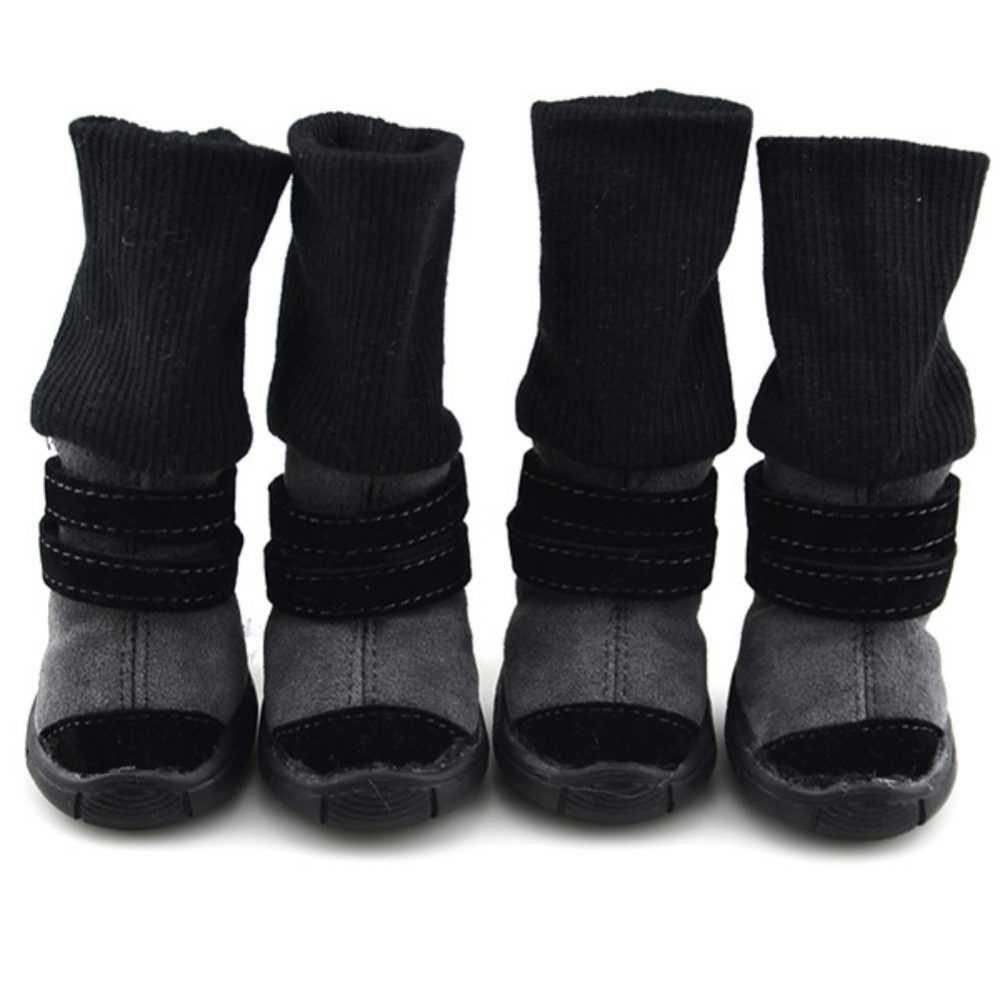 Homedeco Dog Boots Soft Anti Slip Sole Paw Protectors For