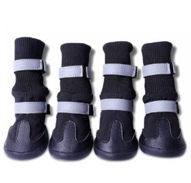 Pet Dog Chihuahua Chukka Rain Boots Puppy Shoes for Dog Puppy 2Colors 5Sizes