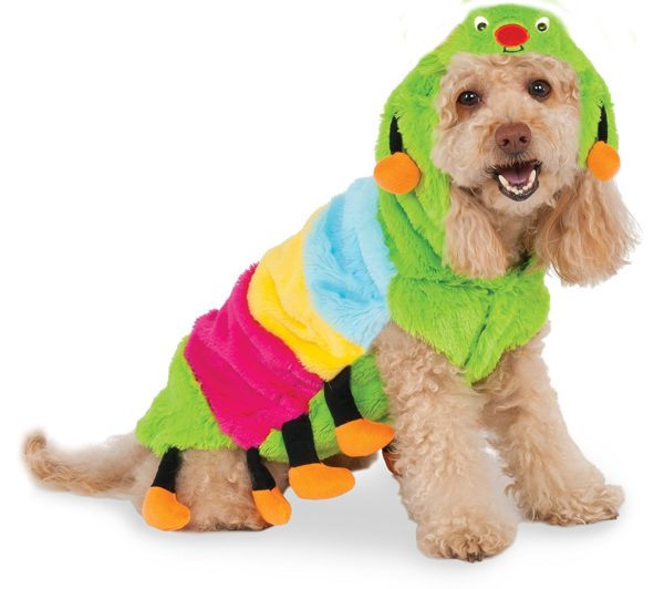 Rubies Costume Company Caterpillar Hoodie for Pet