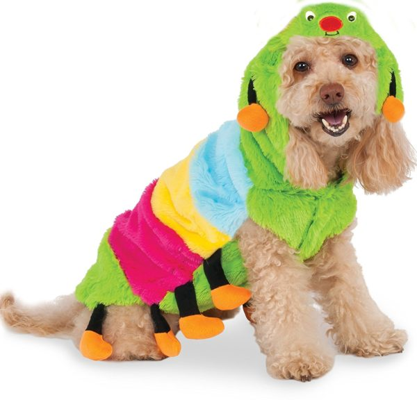 Rubies Costume Company Caterpillar Hoodie for Pet