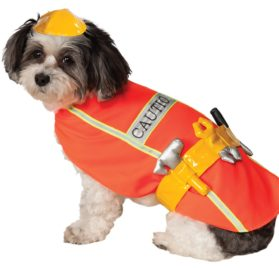 Rubies Costume Company Construction Worker Pet Costume