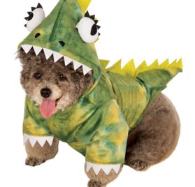 Rubie's Pet Costume, Small, Green Dinosaur Hoodie