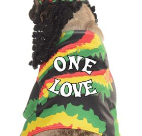 Rubie's Pet Costume, Small, Rasta Dog 2