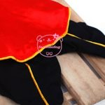 SMALLLEE_LUCKY_STORE Cat Dog Clothes Black Red Vampire Jumpsuit Cloak Coat Costume Small Dog Clothes 7