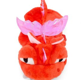SMALLLEE_LUCKY_STORE Pet Dog Cat Flying Dragon Dinosaur Costume Velvet Coat
