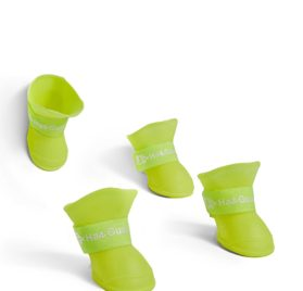 Toy to Small Dog Rain Boots For Yorkie Dachshund Shih Tzu Chihuahua Pom Pug Bichon