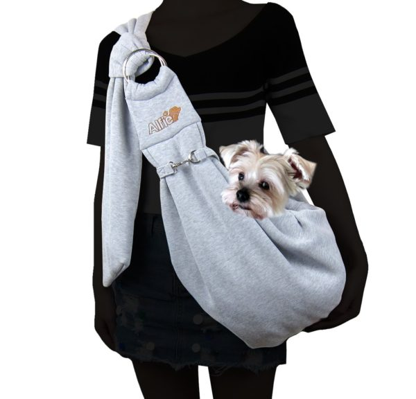 Alfie Pet by Petoga Couture - Chico 2.0 Revisible Pet Sling Carrier with Adjustable Strap