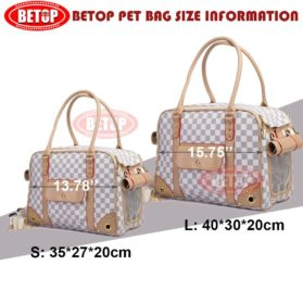 Betop House Pet Carrier Tote Around Town Pet Carrier Portable Dog Handbag Dog Purse for Outdoor Travel Walking Hiking 5