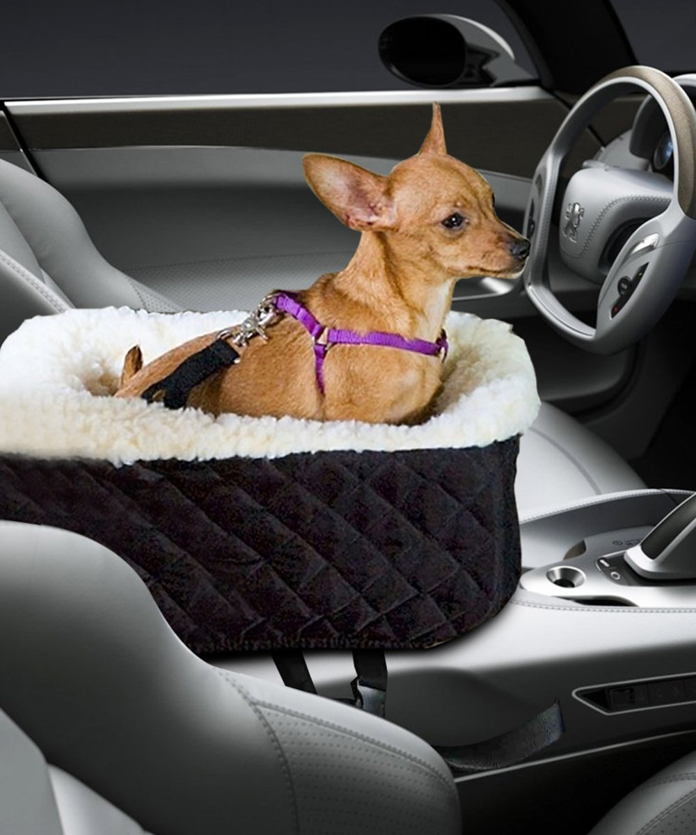 Center Console Pet Car Seats Meago Console Booster Dog Seat
