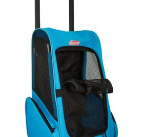 Coleman Pet Carrier Trolley, Good for small dogs such as Chihuahua, Yorkie, teacup dog size 2