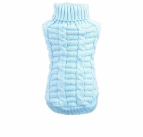 HuoGuo Pet Dog Clothes Winter Chihuahua Puppy Dog Coat Pet Winter Woolen Sweater Knitwear Clothing For Dog Roupas Para
