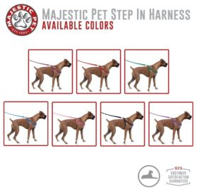 Majestic Pet Dog Harness-Best No Pull Harness for All Dogs-Sizes Large, Medium, Small-Adjustable and Heavy Duty No-Pull Leash & Harness-Perfect Lightweight Training & Walking Collar-100% Guarantee! 7Majestic Pet Dog Harness-Best No Pull Harness for All Dogs-Sizes Large, Medium, Small-Adjustable and Heavy Duty No-Pull Leash & Harness-Perfect Lightweight Training & Walking Collar-100% Guarantee! 7