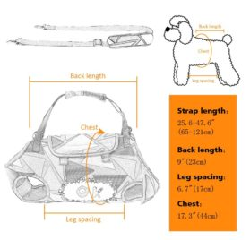 PET ARTIST Multifunctional Pet Carrier for Small Dog, Pet Sling Carrier, Travel Bag for Chihuahua, Puppy,Cat 2