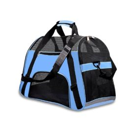 PPOGOO Pet Travel Carriers Soft Sided Portable Bags for Dogs and Cats Airline Approved Dog Carrier