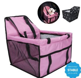 Pet Booster Seats Car Seat Cover Pet Carrier Car Travel Accessories Waterproof Non-Slip Bag for Pets