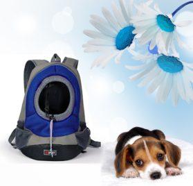 Pet Carrier ,Pashion Breathable Double Shoulder Dog Pet Puppy Bags Backpack Knapsack Cat Carrier Packsack Travelling Pet Holder Bag for Biking, Hiking, Trip, Shopping 8