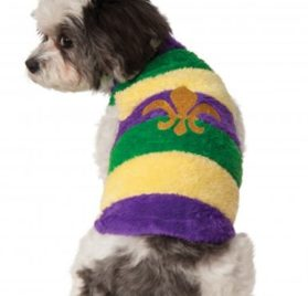 Rubies Costume Company Mardi Gras Soft Pet Sweater