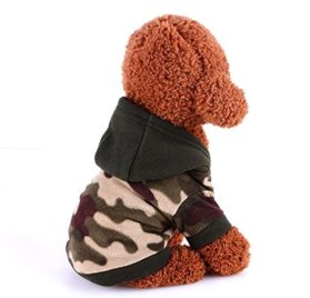 Sumen Dog Pet Clothes Hoodie Warm Sweater Puppy Coat 2
