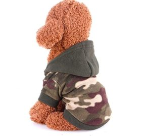 Sumen Dog Pet Clothes Hoodie Warm Sweater Puppy Coat