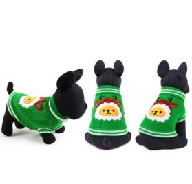 petcircle new christmas tree Knitting Dog Sweater Christmas New Year Winter Soft Washable Dog Clothes For Small dogs 2