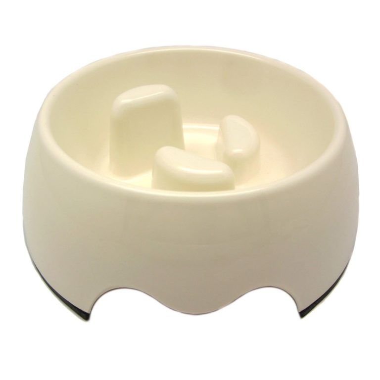 Alfie Pet by Petoga Couture - Vea 2.0 Slow-Eating Anti-Gulping Pet Food Bowl (for Dogs & Cats)