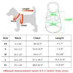 Beirui Cute Christmas Dog Jacket - Dogs Winter Coat Soft Fleece Padded Vest - Warm Pet Jumpsuit 7