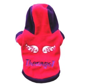 Binmer(TM) Lovely Pet Dog Clothes Puppy Winter Costume Warm Hoodie Coat Jacket for Apparel Chihuahua Poodle Teddy