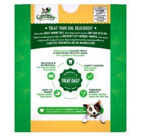 GREENIES Grain Free Dental Dog Chews, Teenie, 96 Treats, 27 Ounces; Grain Free Dental Dog Treats For Clean Teeth and Healthy Gums 2