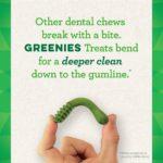 GREENIES Hip and Joint Care Dental TEENIE Dog Treats - Mega TREAT-PAK Package 18 oz. 65 Treats 10