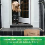 GREENIES Hip and Joint Care Dental TEENIE Dog Treats - Mega TREAT-PAK Package 18 oz. 65 Treats 7