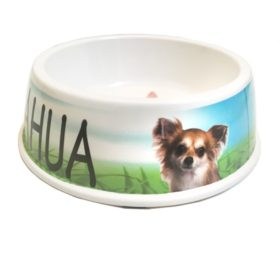 I Love My Chihuahua Dog Bowl, 8-inch 2