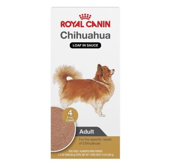 Royal Canin Breed Health Nutrition Chihuahua Loaf In Sauce Dog Food