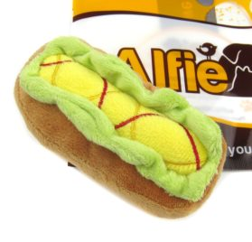 Alfie Pet by Petoga Couture - Regina Dog Small Plush Toy with Squeaker